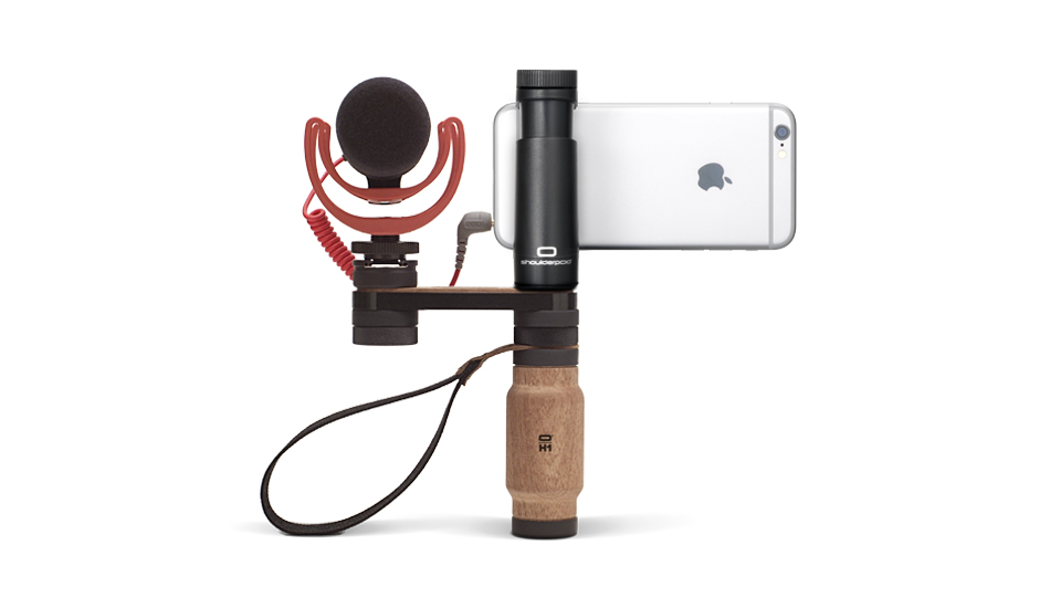 Shoulderpod R2 professional rig for iphone