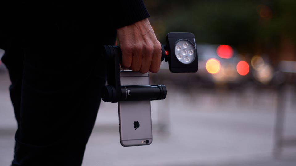 Shoulderpod R2 professional rig for iphone and smartphones