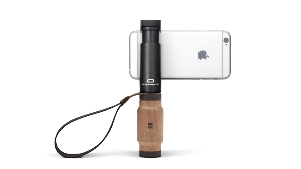 Shoulderpod S2 - handle grip for iPhone