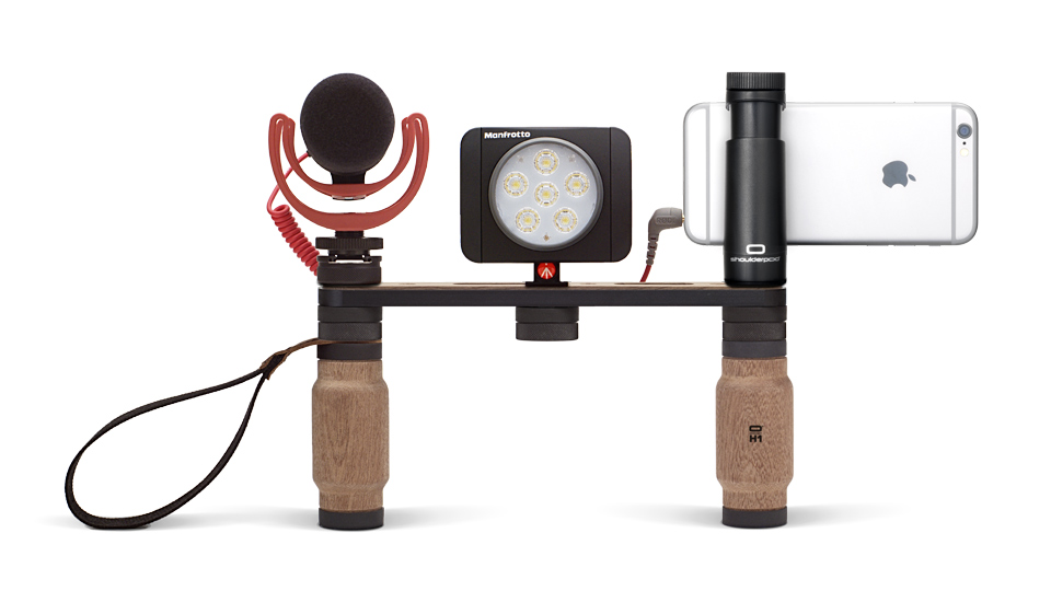Smartphone, microphone and light not included